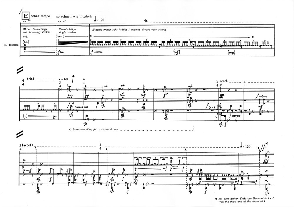 Abolition: page 6 of the score