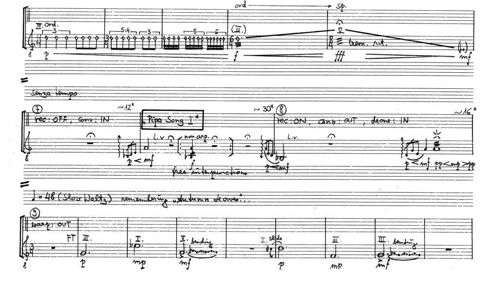 Autumn's Leaving, page 5 of the score