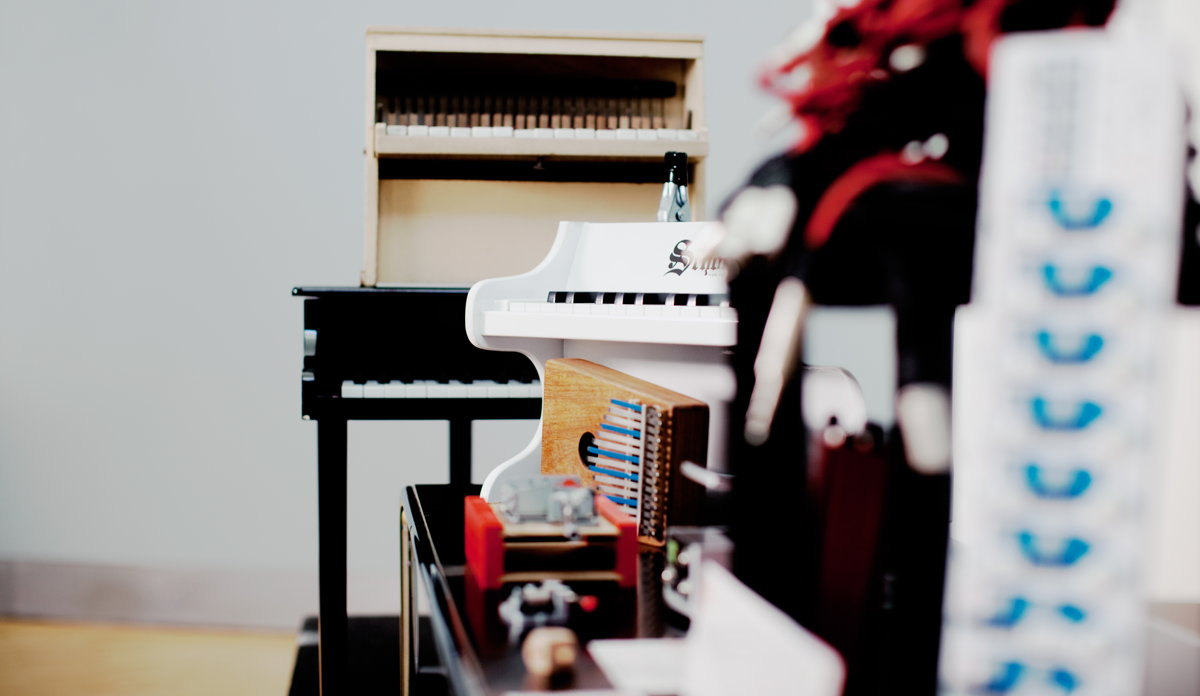 Toy Pianos © 2013 Julia Wesely